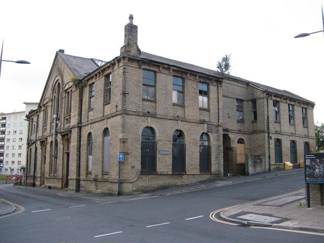 Derelict Former Sunday School, Upper Park Gate/Burnett Street