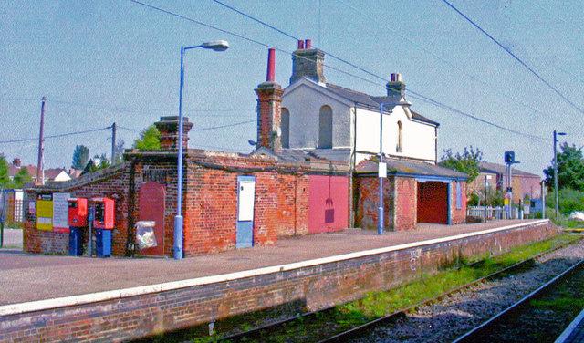 Kirby Cross station, 2008
