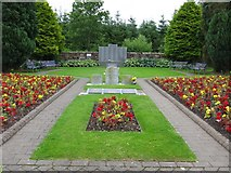 NY1281 : Lockerbie Garden of Remembrance, Dryfesdale Cemetery by G Laird