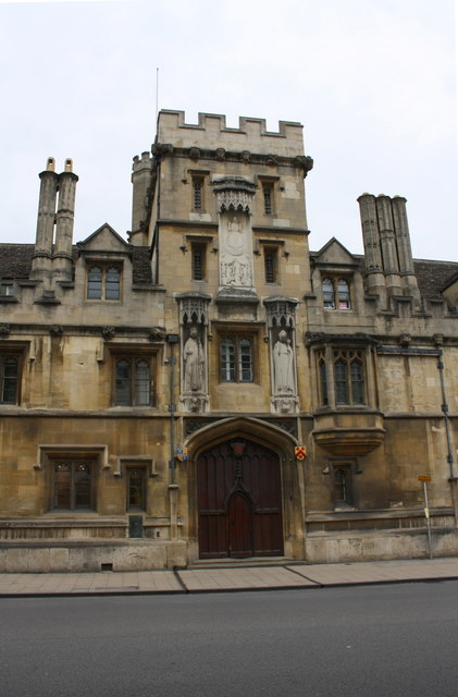 Gateway to All Souls College, High Street