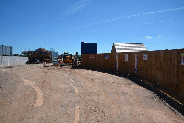 Cullompton : Construction Site