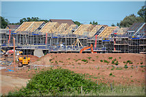 ST0107 : Mid Devon : Construction Site by Lewis Clarke
