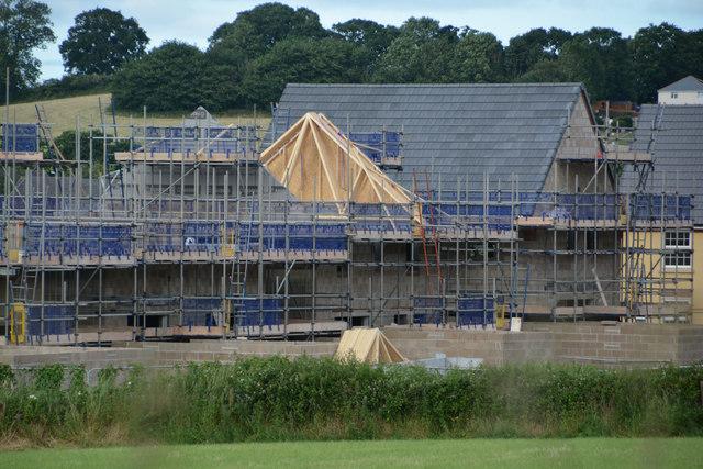 Mid Devon : Construction Site
