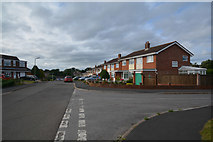 ST0107 : Cullompton : Langlands Road by Lewis Clarke