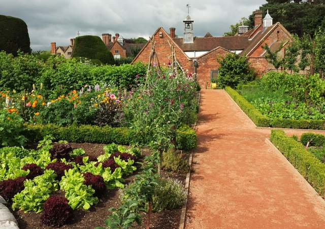 Kitchen garden, Packwood House