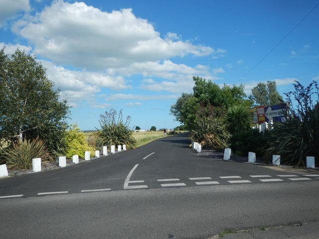 Caravan Park Entrance