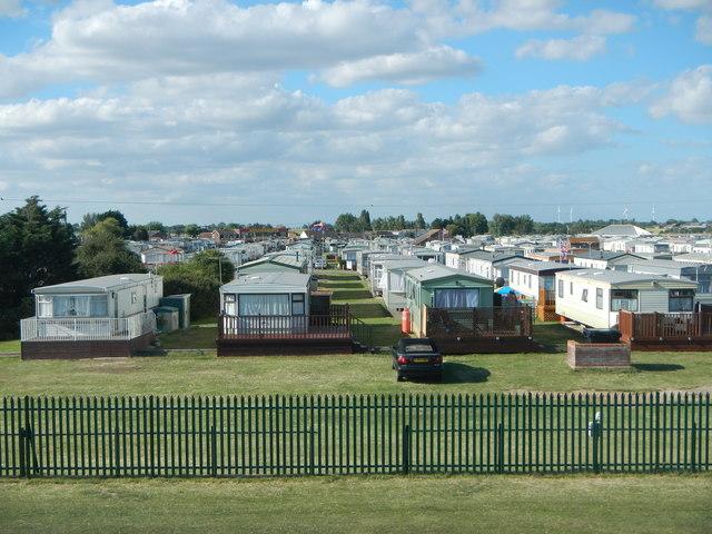 Caravan Site at Seawick