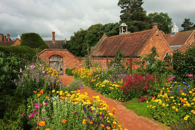 Kitchen garden, Packwood House
