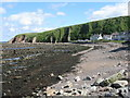 NT9660 : Ross Point at Lower Burnmouth by M J Richardson