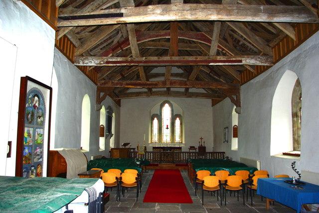 St Mary Magdalene's Church in Bleddfa / Eglwys y Santes Fair Fadlen ym Mleddfa