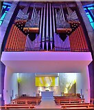 SJ3590 : Blessed Sacrament Chapel, Liverpool RC Cathedral by Len Williams