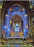 SJ3589 : Anglican Cathedral, Liverpool, Nave by Len Williams