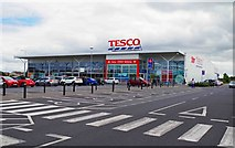 S5809 : Tesco Ballybeg Superstore, Ballybeg Link Road, Ballybeg, Waterford by P L Chadwick