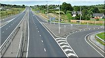 J3397 : The Larne Road, Ballybracken, Ballynure/Larne - July 2017(1) by Albert Bridge