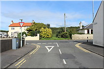 NX0882 : Shore Road Junction with Main Street by Billy McCrorie