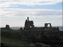 NO5101 : Newark Castle and Doo'cot by Scott Cormie