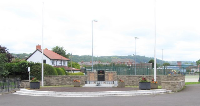War Memorial in Chester Avenue, Whitehead
