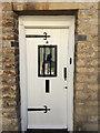 TF0207 : Front door of No 3 St Peter's Street, Stamford by Robin Stott