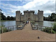TQ7825 : Bodiam Castle by PAUL FARMER