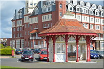 TQ7407 : Seafront shelter by N Chadwick