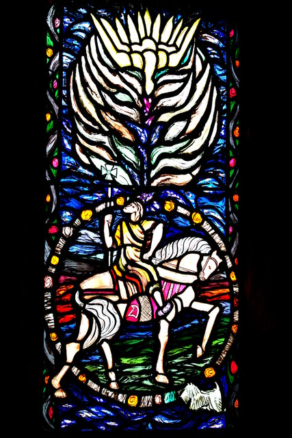 Stained glass at Norton