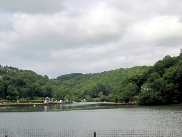 West Looe River Joining East Looe River