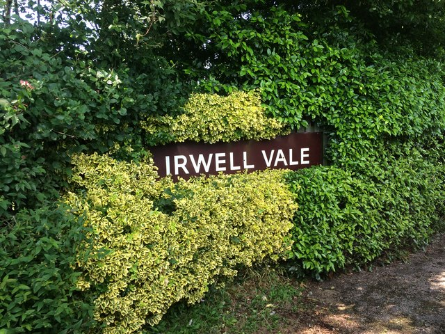 Irwell Vale station sign