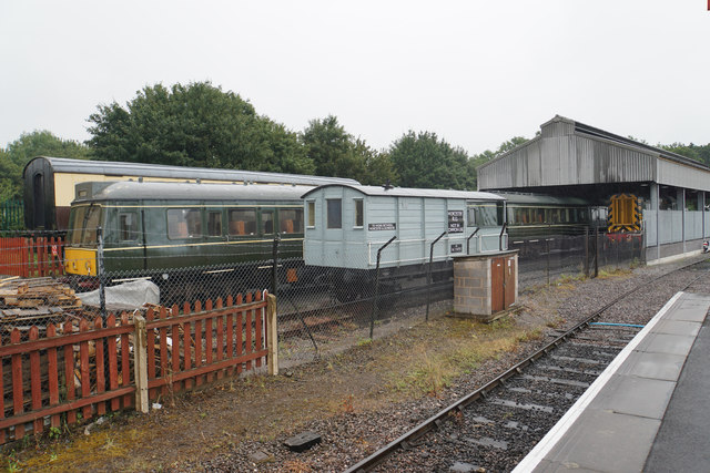 Shed and stock at Bishops Lydeard