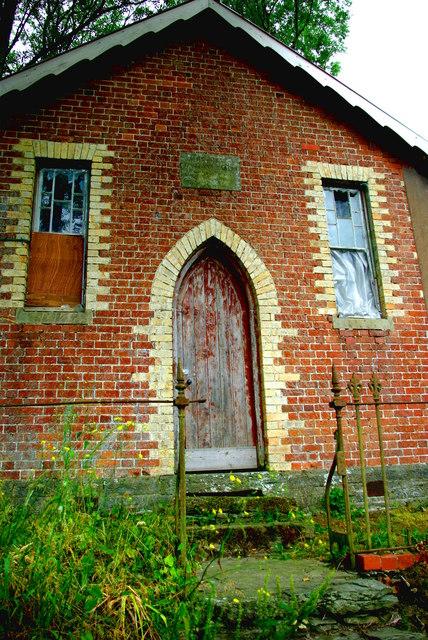 Former Bethel Wesleyan Methodist chapel at Rhos-y-Meirch