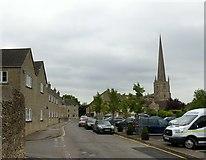 ST8893 : Brewery Lane, Tetbury by Alan Murray-Rust