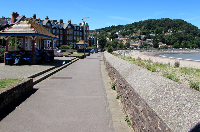 West Somerset Coast Path, Minehead