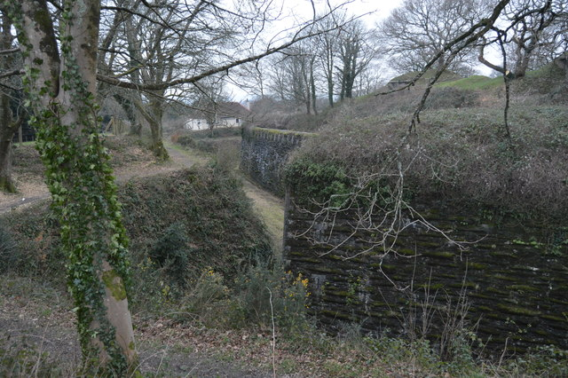 Ditches and defences, Crownhill Fort