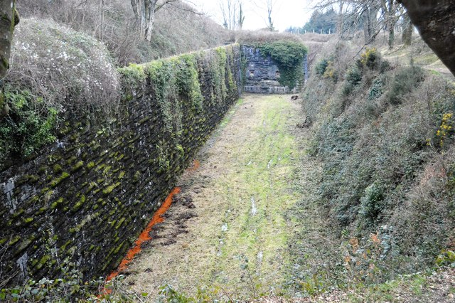Ditch, Crownhill Fort