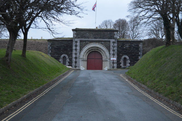 Main gate, Crownhill Fort