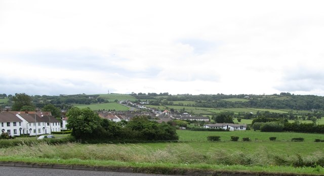 The B150 by-pass on the north side of Whitehead