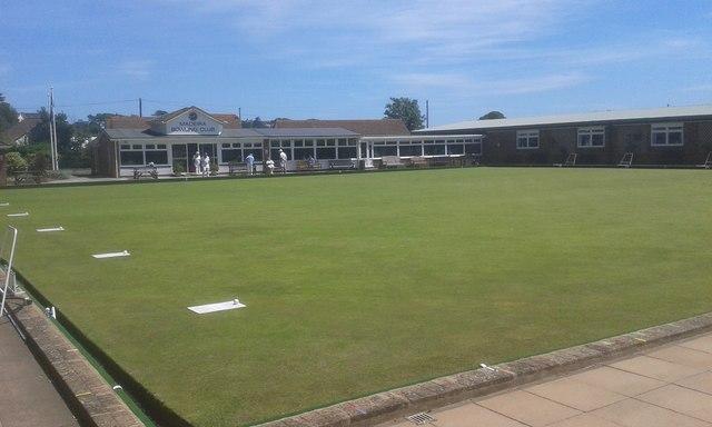 Madeira bowls club, Queens Drive, Exmouth