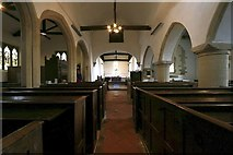 SU4980 : The nave in St Mary by Bill Nicholls