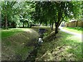 SK3333 : Cuttle Brook leaving Sunnydale Park by Ian Calderwood