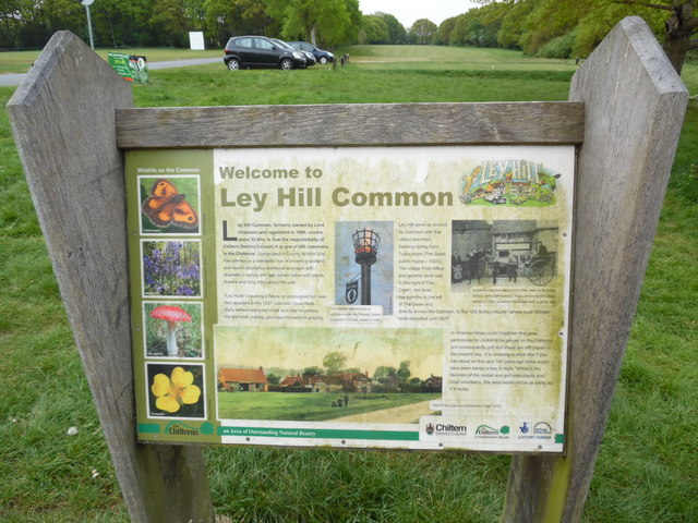 Display Board on Ley Hill Common