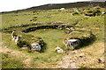SH2182 : Holyhead Mountain Hut Circles by Jeff Buck