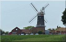 TF7632 : Great Bircham Windmill by Mat Fascione