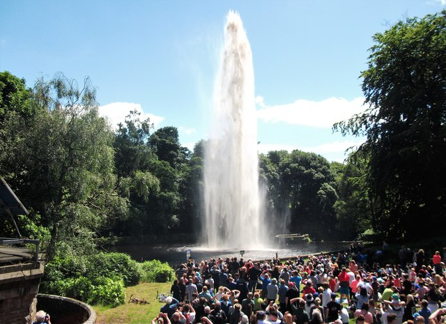 Castle Carr fountain