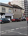 ST3187 : Hannah's Dog Grooming, Lower Dock Street, Newport by Jaggery