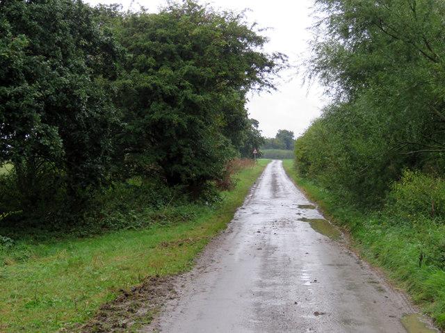 Wysall Road towards Wysall