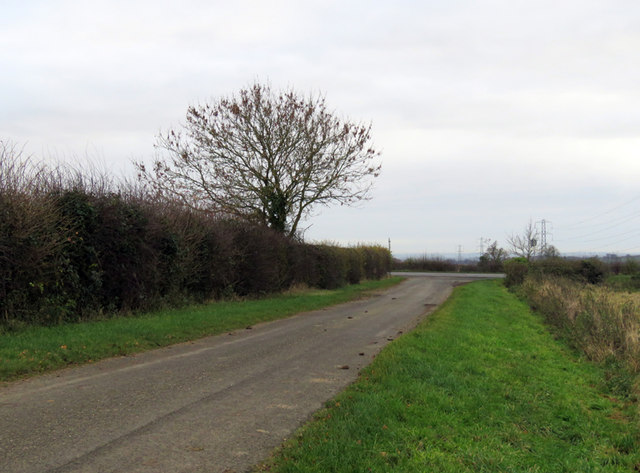 Towards junction with A47