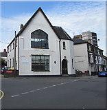 ST3187 : Lower Dock Street Clinic on the corner of Mellon Street, Newport by Jaggery