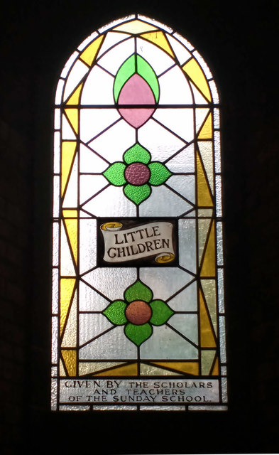 Stained glass window, Union Chapel, Islington