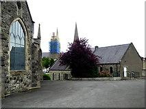 H4472 : Trinity Presbyterian Church car park, Omagh by Kenneth  Allen