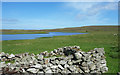 HU5665 : Old Walls by Loch Vats-houll by Des Blenkinsopp