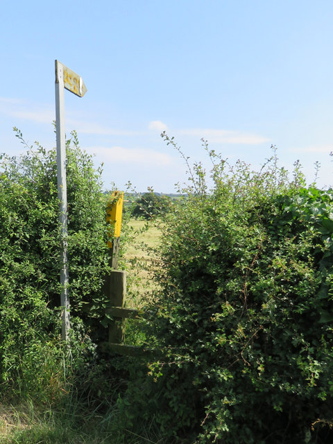 Footpath this way on 06 July 2017